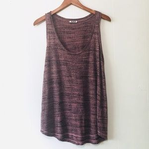 • anthropologie soft heathered mauve tank •